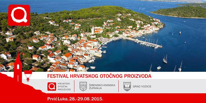 Škraping i Tkonski HOP proizvodi na Festivalu Hrvatskog otočnog proizvoda na Prviću