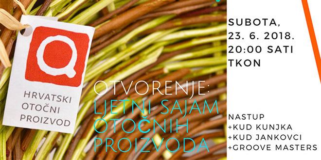 Otvorenje Ljetnog Sajma otočnih proizvoda u Tkon